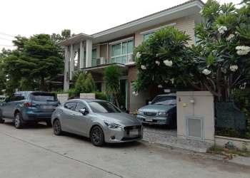 หมู่บ้านพฤษา บ้านเดี่ยว 2 ชั้น Dahua 2MP