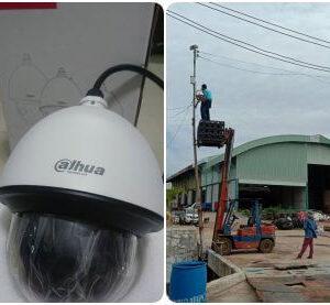 ติดตั้งกล้อง Speed Dome PTZ บริษัท บี พี เซนเตอร์ 1995 จำกัดline_oa_chat_190814_165140