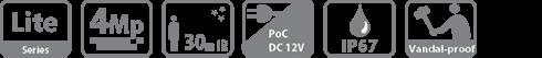 HAC-HDBW1400R-Z-POC